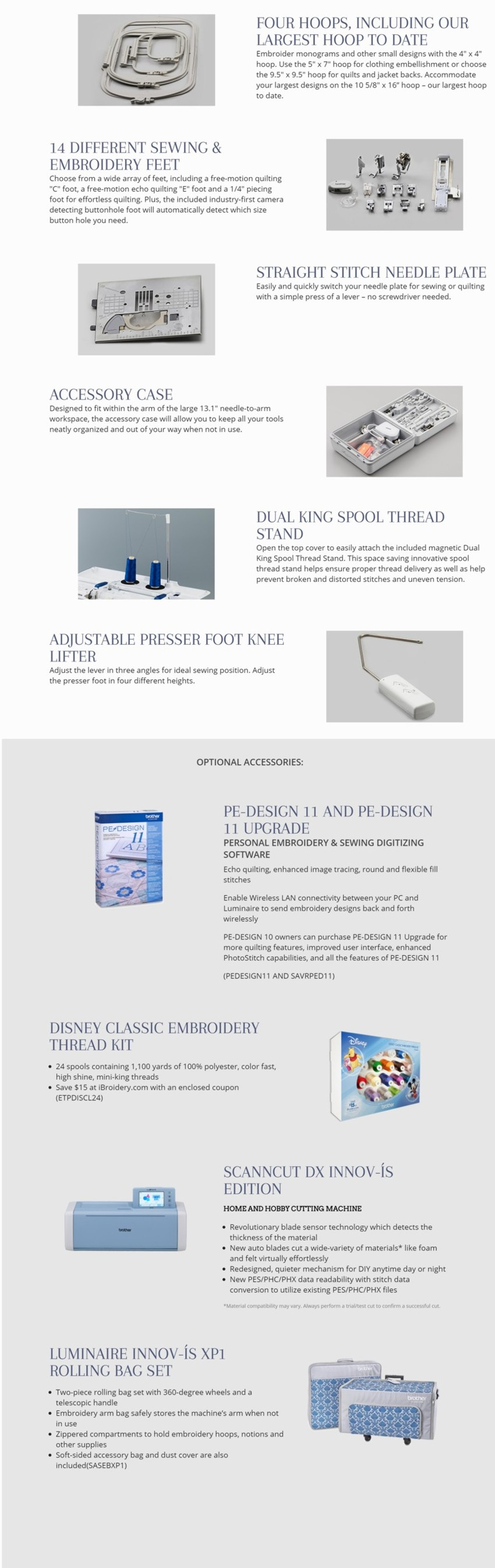 Luminaire Innov-is XP1 - Accessories