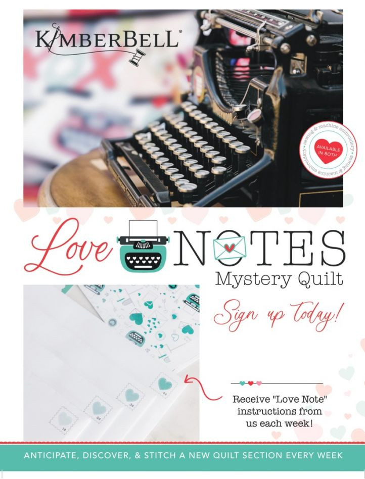 Kimberbell Love Notes