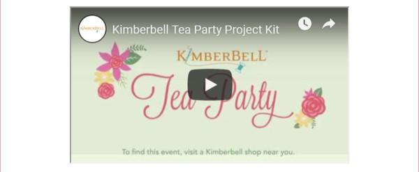 Kimberbell Tea Party