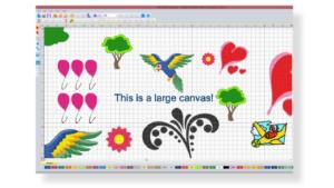 DIME Inspiration Software - My Fabric Designer, Free Hand Design