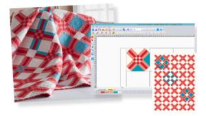 DIME Inspiration Software - My Fabric Designer, Quilt Patterns
